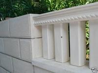 d u c formen gie formen balustraden s ulen betonformen. Black Bedroom Furniture Sets. Home Design Ideas