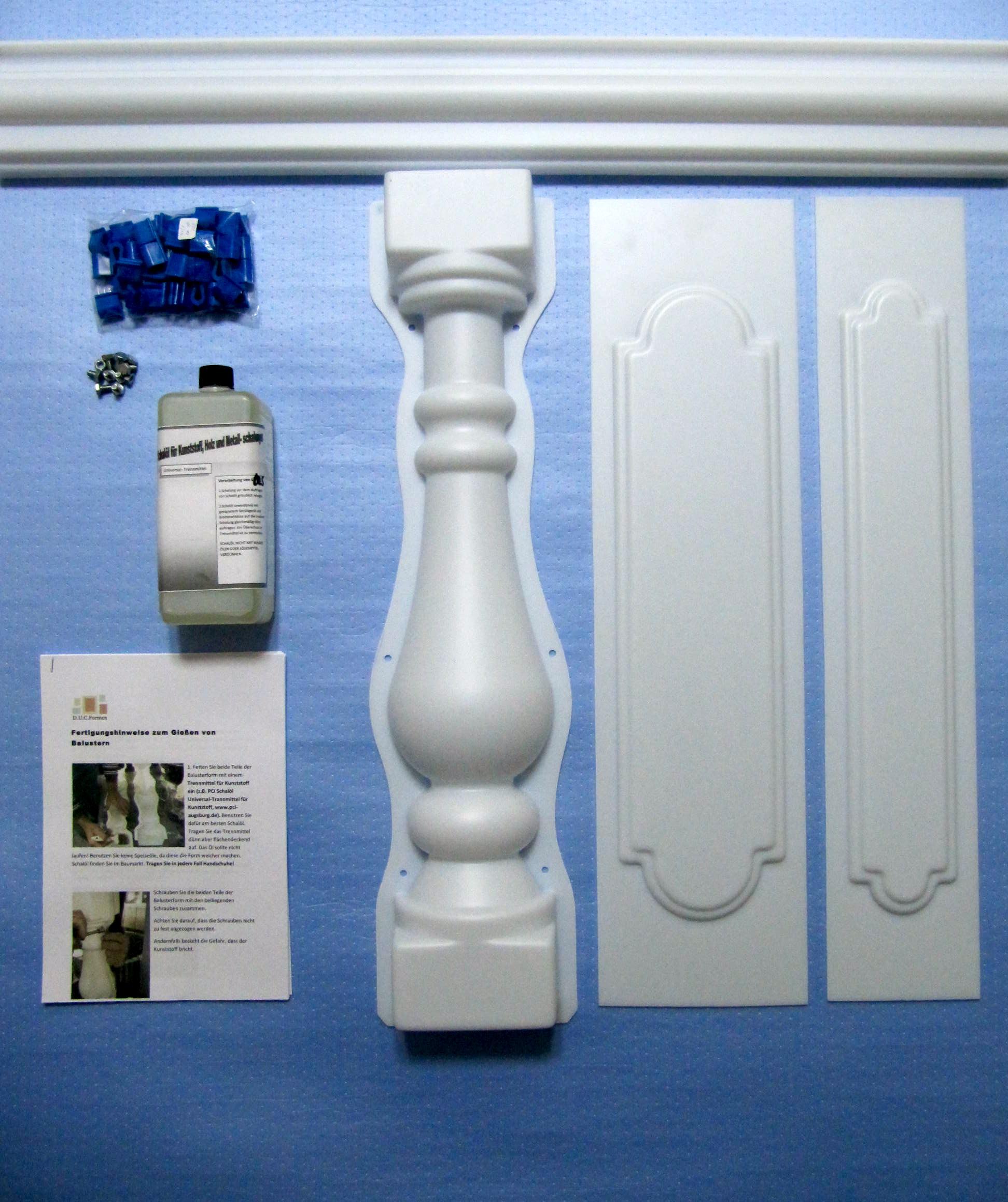 Balustradenkugelngießformenplastikformenbetonformenbetonsäule